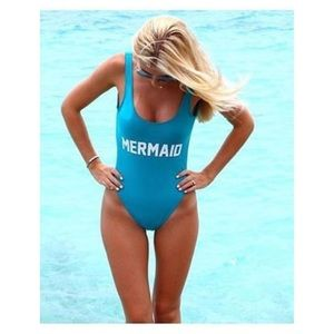 Private party one piece swimsuit never worn